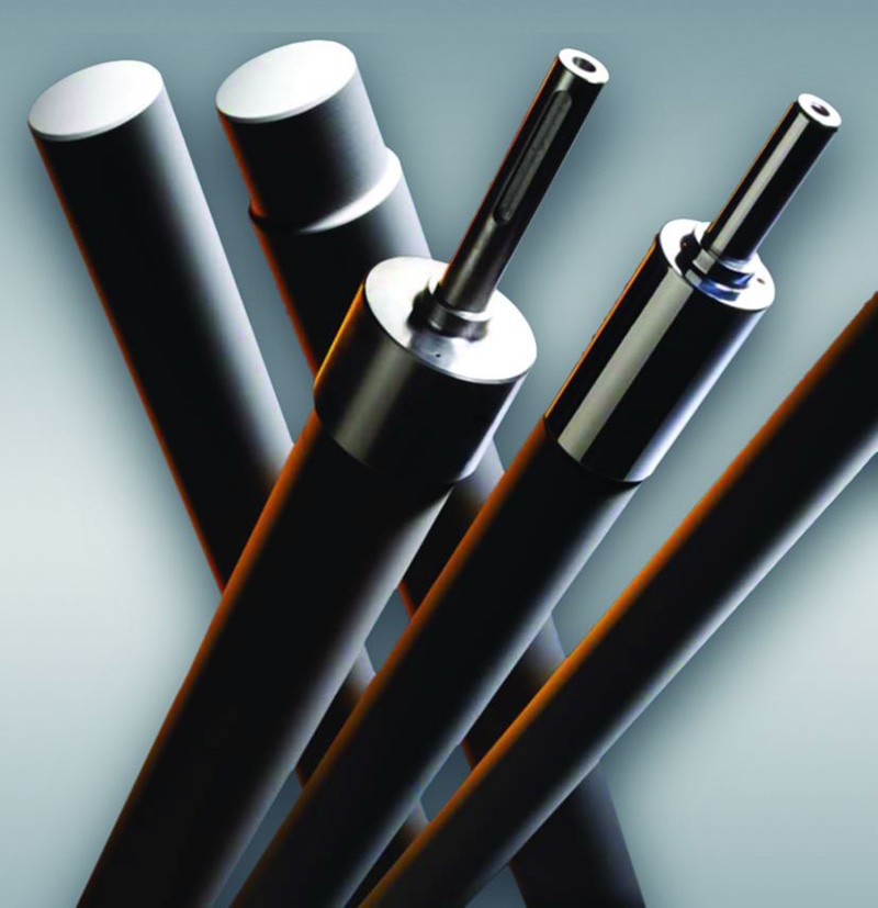 Fused Silica Glass Tempering Rollers
